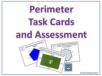 Perimeter Task Cards and Quick Quiz