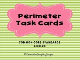 Perimeter Task Cards with Images for Plickers or Google Classroom!