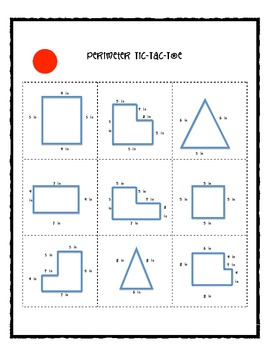 Perimeter Tic-Tac-Toe (Differentiated and Common Core Aligned!)
