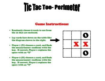 Perimeter Tic Tac Toe Game