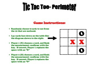 Perimeter Tic Tac Toe Game