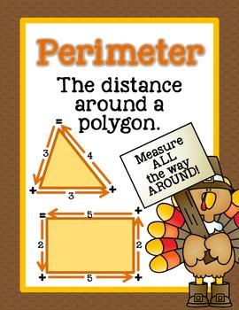 Perimeter Performance Task - Tom Turkey Perimeter Predicament
