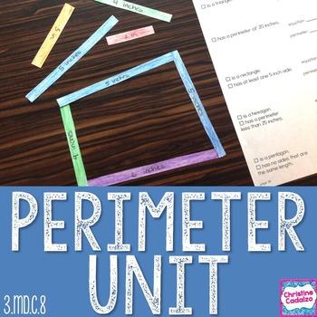 Perimeter Math Unit
