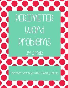 Perimeter Word Problems