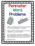 Perimeter Word Problems Digital and Print No Prep Bundle