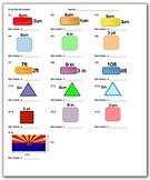 Perimeter Worksheet - Math Worksheets