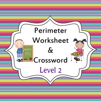 Perimeter Worksheet and Activity - Level 2