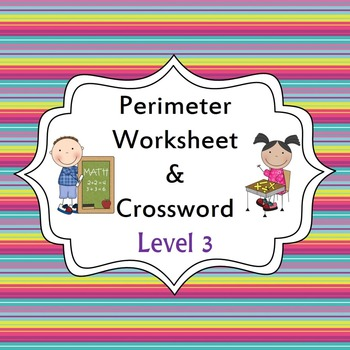 Perimeter Worksheet and Activity - Level 3