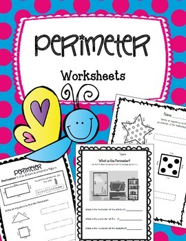 Perimeter Worksheets & Activities. NO PREP!