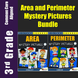 Finding Area and Perimeter Worksheets With Word Problems Mystery Pictures