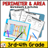 Perimeter and Area Activities & Worksheets