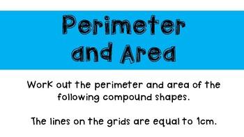 Perimeter and Area Activity