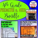 Perimeter and Area Bundle 4th Grade