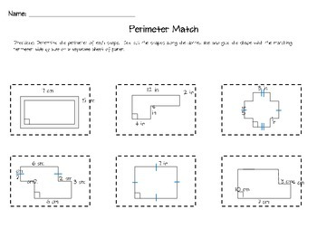 Perimeter and Area Bundle Pack - Task Cards and Activities