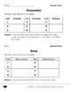 Perimeter and Area (Calculating Perimeter & Area)
