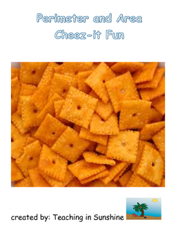 Perimeter and Area Cheez-it Fun