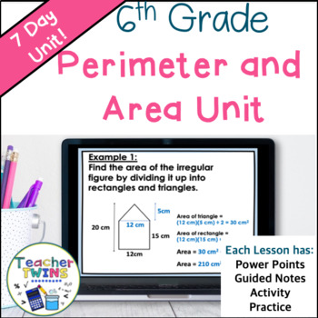 Perimeter and Area Common Core 6.G.1 AND 6.G.3