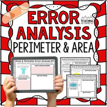 Perimeter and Area Error Analysis