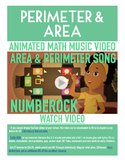 Perimeter and Area | FREE Math Poster, Worksheet, & Fun Video | 3rd-4th Grade