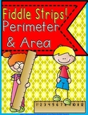 Perimeter and Area Fiddle Strips! Game