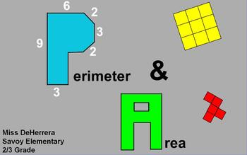 Perimeter and Area Flipchart