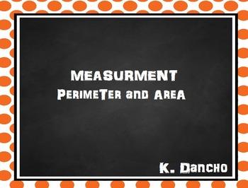 Perimeter and Area Flipchart