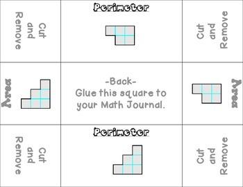 Perimeter and Area Foldable