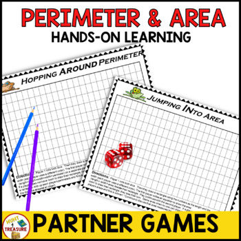 Perimeter and Area Games