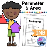 Perimeter and Area Interactive Notebook Activity