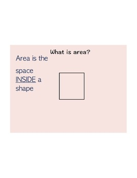 Perimeter and Area Intro or Review with challenges