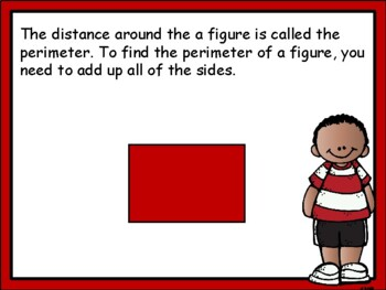 Perimeter and Area Introduction Power Point