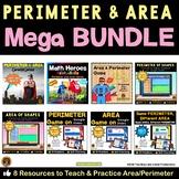 Perimeter and Area Mega Bundle 5