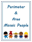 Perimeter and Area Mosaic People