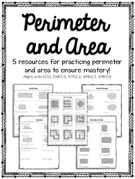 Perimeter and Area No Prep Print and Go