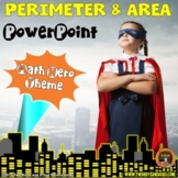 Area and Perimeter POWERPOINT Lessons