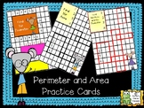 Perimeter and Area Practice Cards