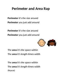Perimeter and Area Rap
