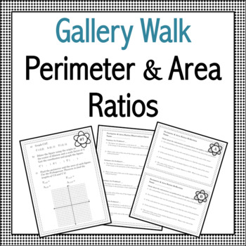 Perimeter and Area Ratios Gallery Walk