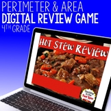 Perimeter and Area Review Game - Hot Stew Review