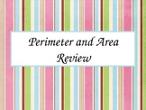 Perimeter and Area Review PowerPoint Presentation