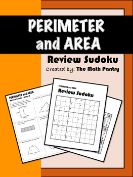 Perimeter and Area - Review Sudoku