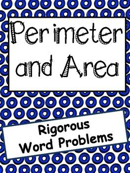 Perimeter and Area: Rigorous Word Problems