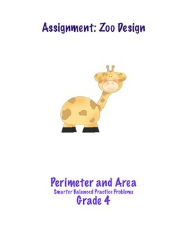 Perimeter and Area Smarter Balanced Practice Questions