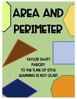 Perimeter and Area Song (Taylor Swift, Style) (Song, Themed Worksheet, Video)