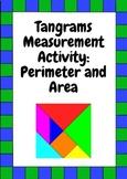 Tangram Measurement Activity: Perimeter and Area