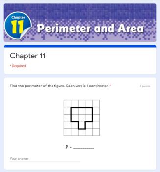 area and perimeter test pdf grade 10