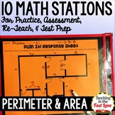 Perimeter and Area Stations