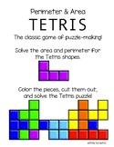 Perimeter and Area Tetris