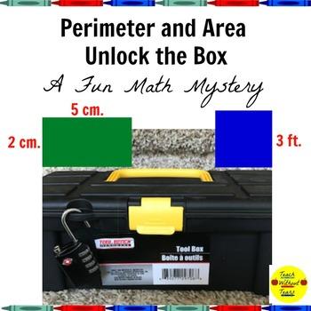 Perimeter and Area Unlock the Box: A Fun Math Mystery
