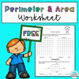 FREE Perimeter and Area Worksheet